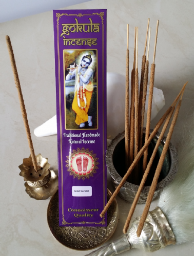 Gold Sandal Incense Sticks - 20 grams